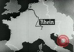 Image of map of Germany Germany, 1936, second 50 stock footage video 65675042335