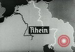 Image of map of Germany Germany, 1936, second 53 stock footage video 65675042335
