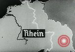 Image of map of Germany Germany, 1936, second 54 stock footage video 65675042335