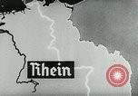 Image of map of Germany Germany, 1936, second 55 stock footage video 65675042335
