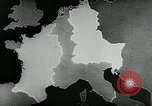 Image of map of Germany Germany, 1936, second 5 stock footage video 65675042336