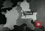 Image of map of Germany Germany, 1936, second 8 stock footage video 65675042336