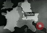 Image of map of Germany Germany, 1936, second 9 stock footage video 65675042336