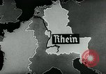 Image of map of Germany Germany, 1936, second 20 stock footage video 65675042336