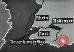 Image of map of Germany Germany, 1936, second 32 stock footage video 65675042336