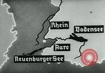 Image of map of Germany Germany, 1936, second 33 stock footage video 65675042336