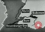 Image of map of Germany Germany, 1936, second 34 stock footage video 65675042336