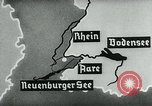 Image of map of Germany Germany, 1936, second 36 stock footage video 65675042336
