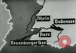 Image of map of Germany Germany, 1936, second 38 stock footage video 65675042336
