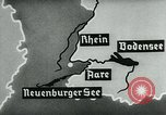 Image of map of Germany Germany, 1936, second 39 stock footage video 65675042336
