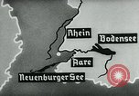Image of map of Germany Germany, 1936, second 40 stock footage video 65675042336