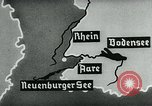 Image of map of Germany Germany, 1936, second 42 stock footage video 65675042336