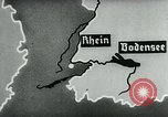 Image of map of Germany Germany, 1936, second 43 stock footage video 65675042336