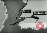 Image of map of Germany Germany, 1936, second 44 stock footage video 65675042336