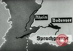 Image of map of Germany Germany, 1936, second 47 stock footage video 65675042336