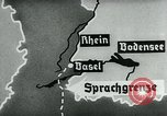 Image of map of Germany Germany, 1936, second 49 stock footage video 65675042336