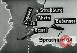 Image of map of Germany Germany, 1936, second 55 stock footage video 65675042336
