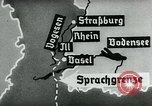 Image of map of Germany Germany, 1936, second 57 stock footage video 65675042336