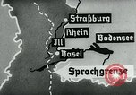 Image of map of Germany Germany, 1936, second 59 stock footage video 65675042336