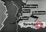 Image of map of Germany Germany, 1936, second 60 stock footage video 65675042336