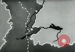 Image of map of Germany Germany, 1936, second 62 stock footage video 65675042336