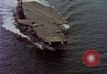 Image of Variety of  U.S. Navy aircraft landing on the USS Forrestal at sea Atlantic Ocean, 1959, second 3 stock footage video 65675042344