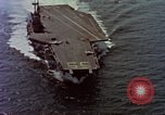 Image of Variety of  U.S. Navy aircraft landing on the USS Forrestal at sea Atlantic Ocean, 1959, second 4 stock footage video 65675042344