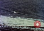 Image of Variety of  U.S. Navy aircraft landing on the USS Forrestal at sea Atlantic Ocean, 1959, second 8 stock footage video 65675042344
