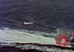 Image of Variety of  U.S. Navy aircraft landing on the USS Forrestal at sea Atlantic Ocean, 1959, second 9 stock footage video 65675042344