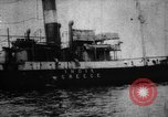 Image of Greek steamer India sunk by explosives Atlantic Ocean, 1917, second 12 stock footage video 65675042361