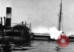 Image of Greek steamer India sunk by explosives Atlantic Ocean, 1917, second 60 stock footage video 65675042361
