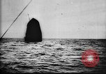 Image of German U-Boat sinks Allied ship United States USA, 1917, second 60 stock footage video 65675042369
