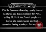 Image of French refugees France, 1918, second 9 stock footage video 65675042373
