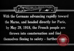 Image of French refugees France, 1918, second 11 stock footage video 65675042373