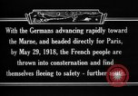 Image of French refugees France, 1918, second 15 stock footage video 65675042373