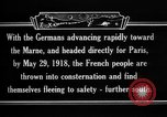 Image of French refugees France, 1918, second 18 stock footage video 65675042373