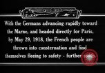Image of French refugees France, 1918, second 19 stock footage video 65675042373