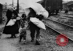 Image of French refugees France, 1918, second 38 stock footage video 65675042373