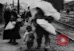 Image of French refugees France, 1918, second 39 stock footage video 65675042373