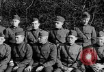 Image of French officers France, 1918, second 46 stock footage video 65675042376