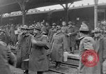 Image of Allied soldiers France, 1918, second 34 stock footage video 65675042381