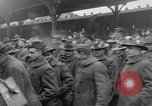 Image of Allied soldiers France, 1918, second 39 stock footage video 65675042381