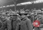 Image of Allied soldiers France, 1918, second 42 stock footage video 65675042381
