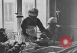 Image of injured soldier France, 1918, second 51 stock footage video 65675042388