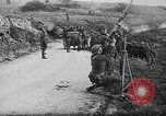 Image of German aircraft downed World War 1 with captured pilot France, 1918, second 47 stock footage video 65675042391