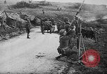 Image of German aircraft downed World War 1 with captured pilot France, 1918, second 48 stock footage video 65675042391
