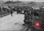 Image of German aircraft downed World War 1 with captured pilot France, 1918, second 49 stock footage video 65675042391