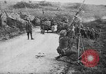 Image of German aircraft downed World War 1 with captured pilot France, 1918, second 52 stock footage video 65675042391