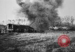 Image of American ammunition dump explodes in World War 1 France, 1918, second 37 stock footage video 65675042394