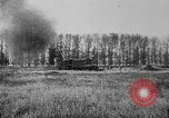 Image of American ammunition dump explodes in World War 1 France, 1918, second 50 stock footage video 65675042394